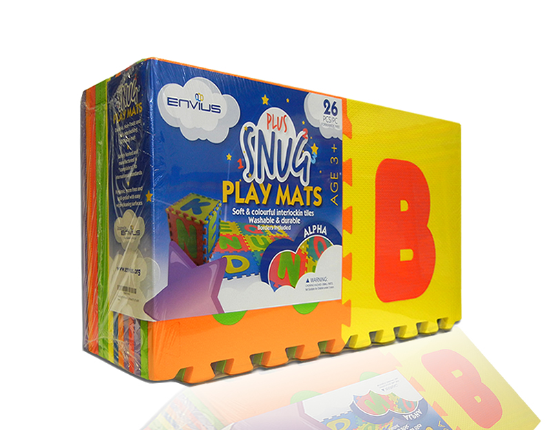 EnviUs ™ Snug Plus Play Mat Alpha