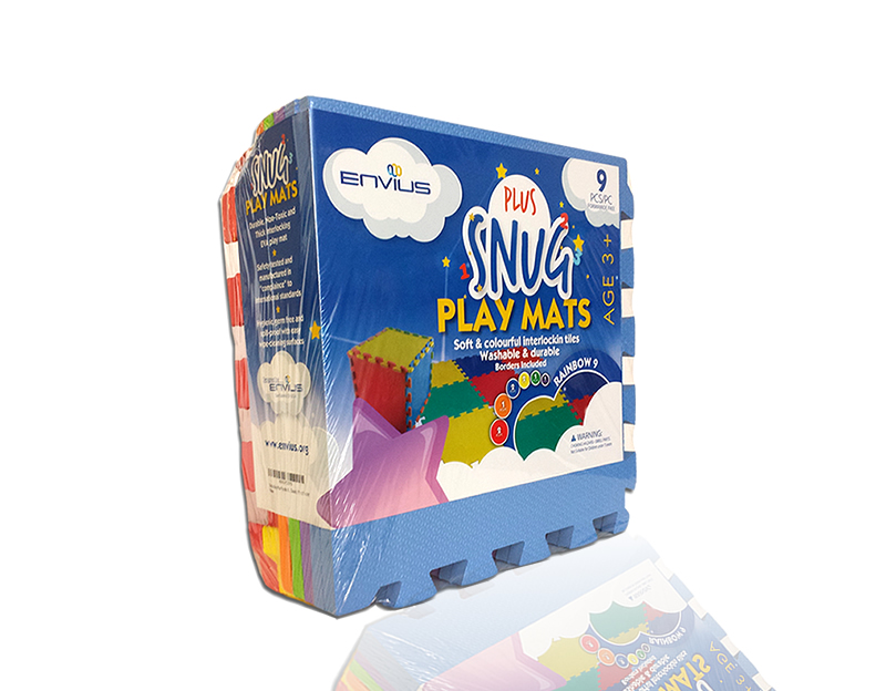 EnviUs ™ Snug Plus Play Mat Rainbow 9