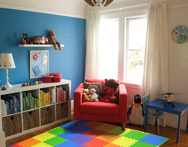 EnviUs ™ Snug Plus Play Mat Rainbow 36